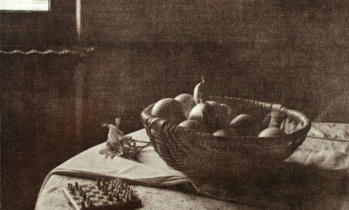Bowl of Fruit Chantilly Lith print
