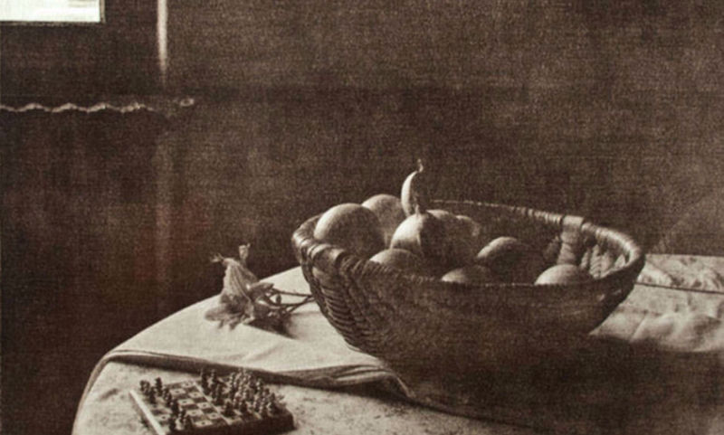 Bowl of Fruit in Chantilly