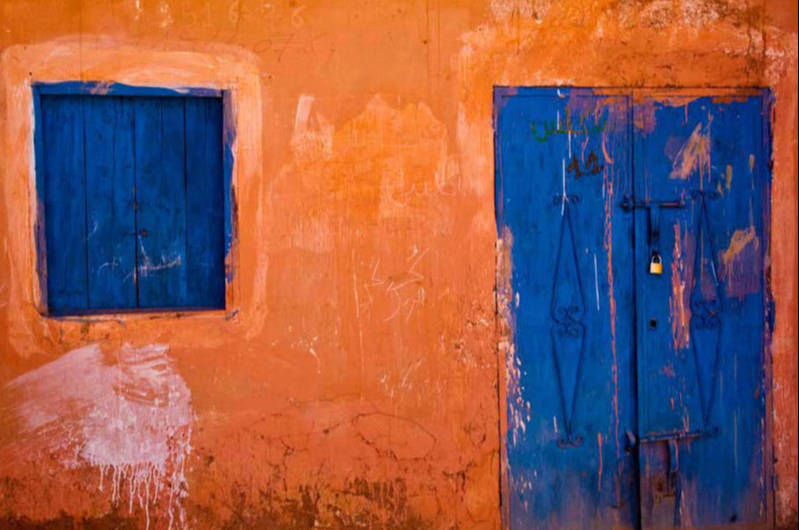 Blue and Ocre Morocco