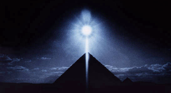 Chephren Pyramid Winter Solstice 1989