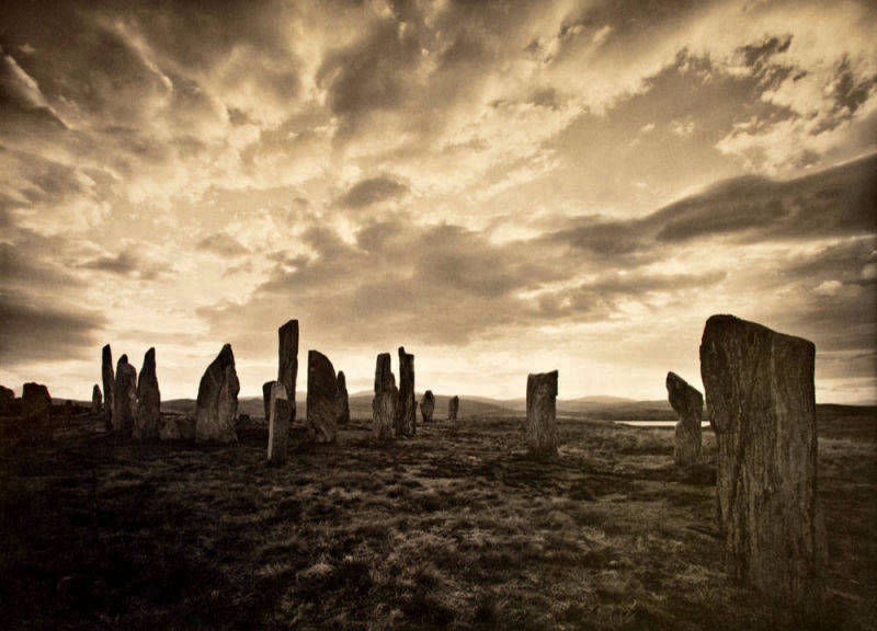 Purchase print of Callanish in Black and White