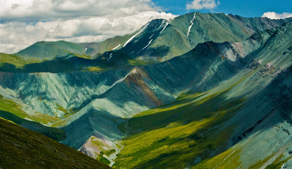 Valley of The Mother of The World Altai Mountains